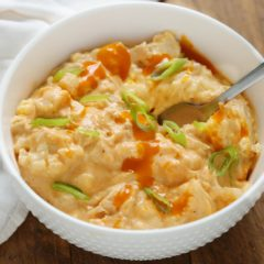 buffalo chicken cauliflower recipe