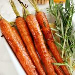 Rustic Honey Roasted Carrots