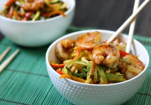 Pad Thai Shrimp & Zoodles