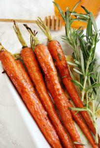 Rustic Honey Roasted Carrots