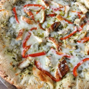 tuscan grilled chicken pizza