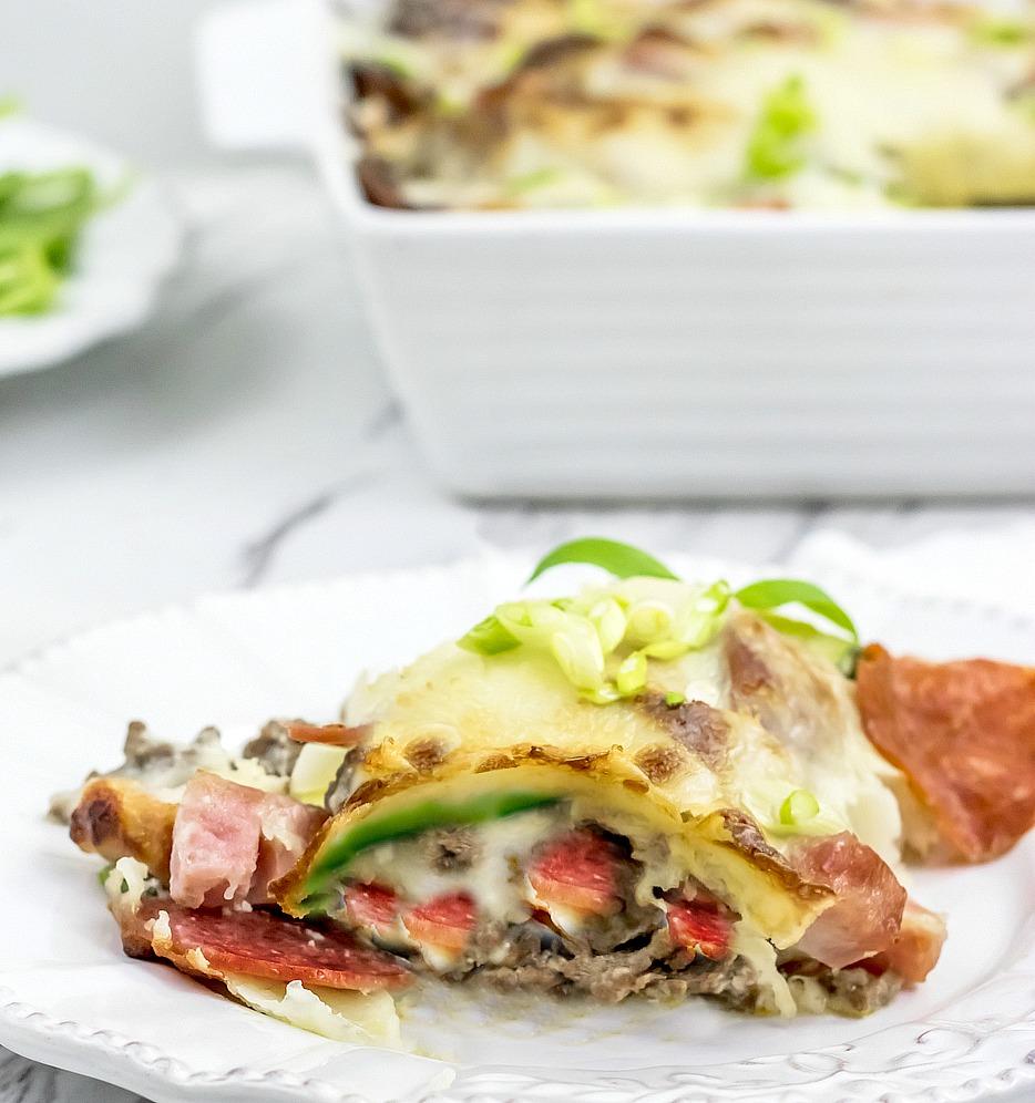 zucchini lasagna rolls recipe