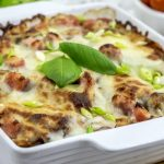 Zucchini Lasagna- Meat Lover's Style