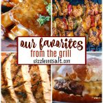 Grilled Recipes- End of Summer Cookouts