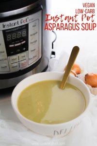Instant Pot Asparagus Soup