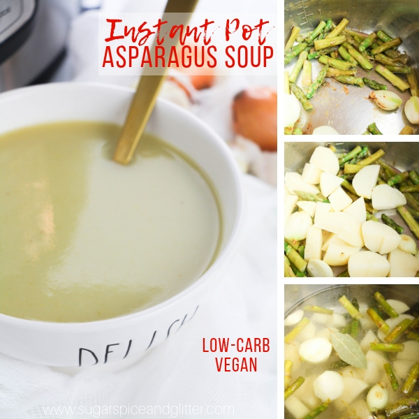 How to make asparagus soup in the instant pot