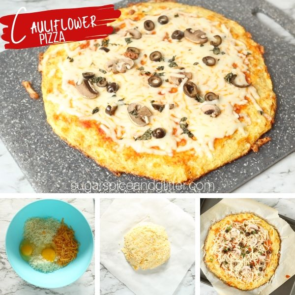 How to make the best ever cauliflower pizza, including must-know tips and a step-by-step recipe video