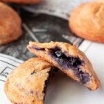 Keto Blueberry Pies